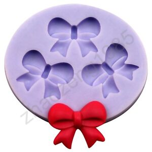 Charm-bowkn-3-Cavities-Flexible-Push-Silicone-Mold-Mould-For-Resin-Polymer-Clay