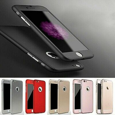 iPhone 6 6s Plus Schutz 360° Handyhülle Tasche Case Hülle Schutzhülle Cover