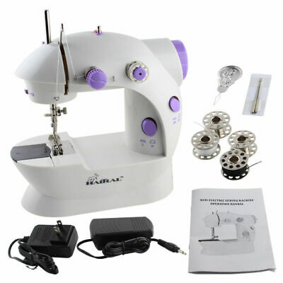 Sewing 2-Speed Handheld Portable Desktop Sewing Machine Household Mini Electric