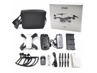 DJI Spark Drone (Fly More Combo - Remote, Spare battery, case etc)