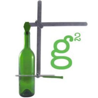 Diamond Tech Crafts New Glass Bottle Cutter Generation Green g2