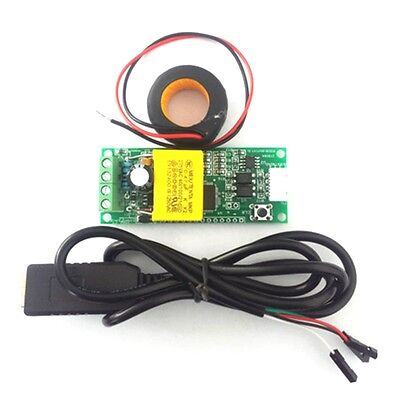 Ac100a Electric Monitor Communication Module Power Energy Current Meter Ct Coil