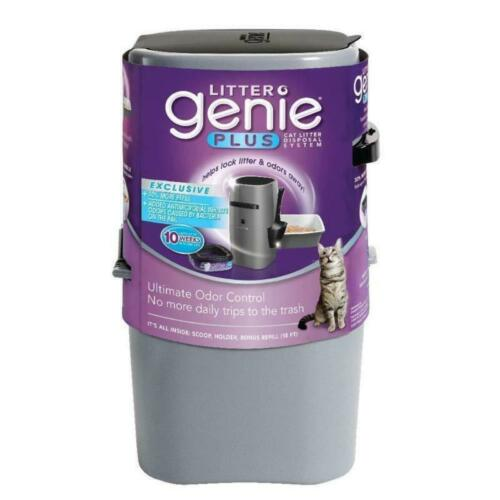 Litter Genie Plus Pail, Ultimate Disposal Cat Litter System,