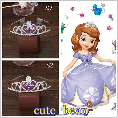 Sofia the First Princess Sofia Silver Crown Cosplay Props Headband - Princess Sofia Crown