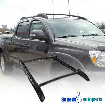 fit 05-17 Toyota Tacoma Image = 'prety damned quick' Cab Roof Top Rack Aluminum Cross Bar Side Rails