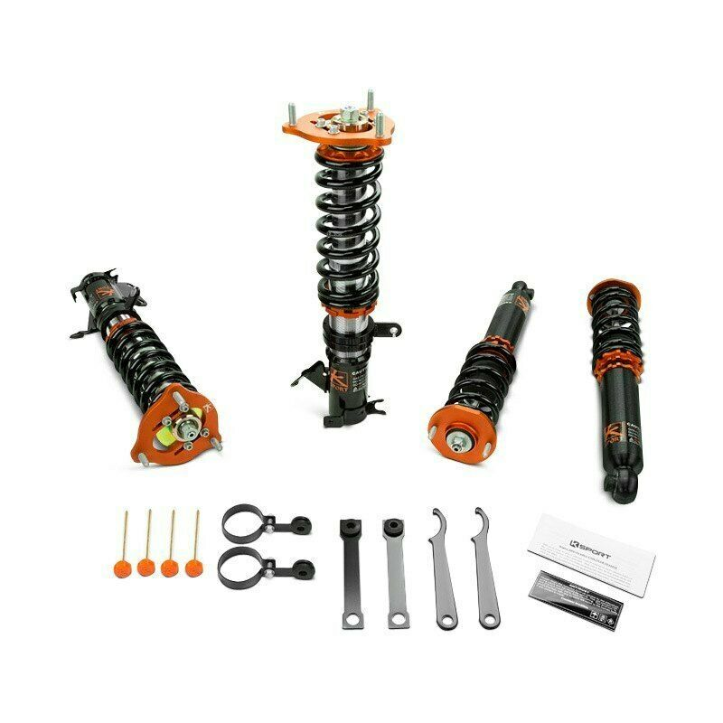 "For BMW Z3 98-02 0.5""-2.5"" x 0.5""-2.5"" GT Pro Front & Rear Lowering Coilover Kit"