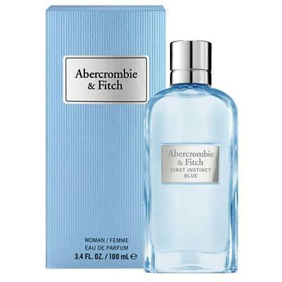 Abercrombie & Fitch First Instinct Blue for Women 100ml EDP Spray New Boxed