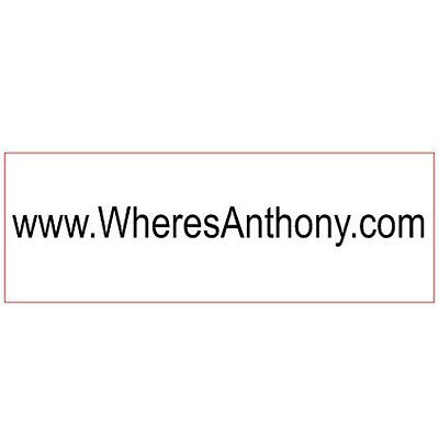 Top Selling Custom 1line Website Address Orname Initial Self Inking Rubber Stamp