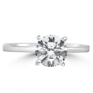 1.51ct  Natural Mined Diamond 14k solid white gold