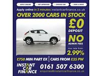 Nissan Juke 1.5dCi ( 110ps ) Visia UK'S NO 1 CAR FINANCE COMPANY