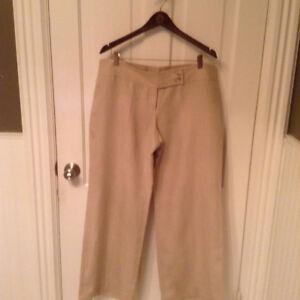 Womens Michael Kors Linen Pants - wide legged - size 16