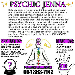 ***PSYCHIC JENNA READINGS BY PHONE*** Downtown-West End Greater Vancouver Area image 5