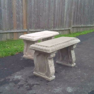 Concrete Benches