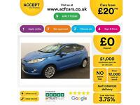 Ford Fiesta 1.4 2009MY Titanium FROM £20 PER WEEK!