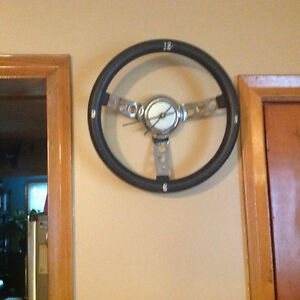 Chrome Steering- Wheel Clock