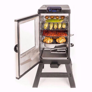 """New 30"""" Masterbuilt Electric Smoker with Bluetooth and phone app"""