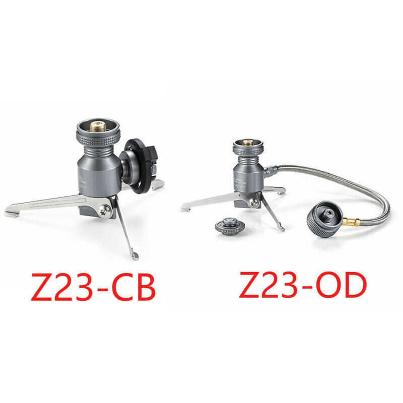 Tripod Butane Canister Adapter Outdoor Collapsible Gas Stove Connector Adapter