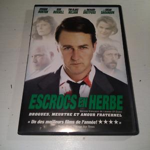 DVD Leaves of Grass, Escrocs en Herbe English, Français
