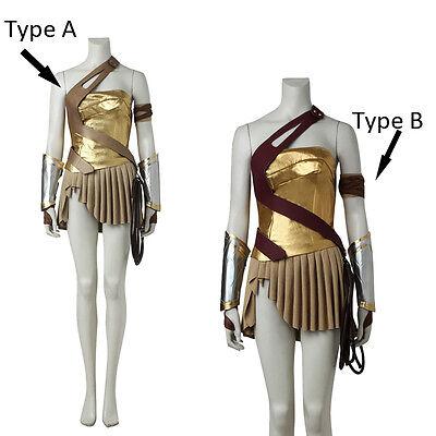 Hot Diana Prince Wonder Woman Cosplay Costume Princess Diana Hallowmas Costume