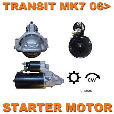 FORD TRANSIT MK7 2006-2013 2.2/2.4 TDCi DIESEL BRAND NEW QUALITY STARTER MOTOR