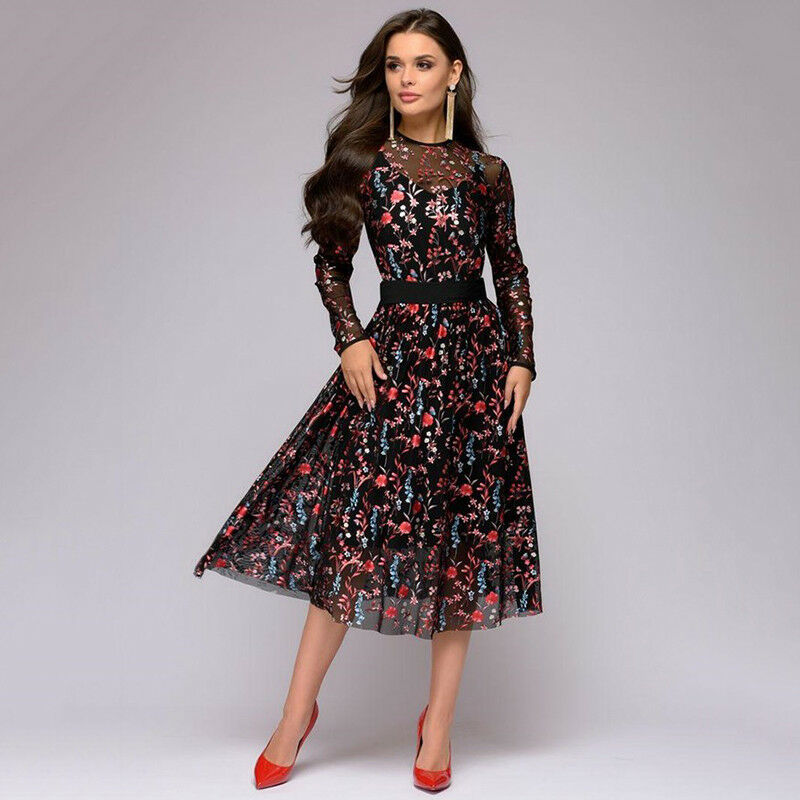 popular stores release date: many fashionable Details about Party Long Dress Plus Size Women Evening Ladies Cocktail  Dresses Prom Ball Gown
