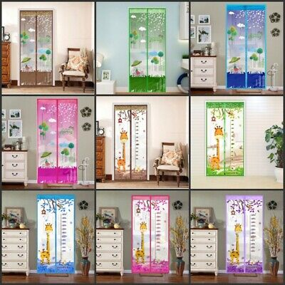Home Magnetic Door Divider Insect Mesh Net Curtain Screen for Bug Mosquito - Curtain For Door