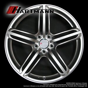 Hartmann HRS6-204 18 inch Audi alloy wheels