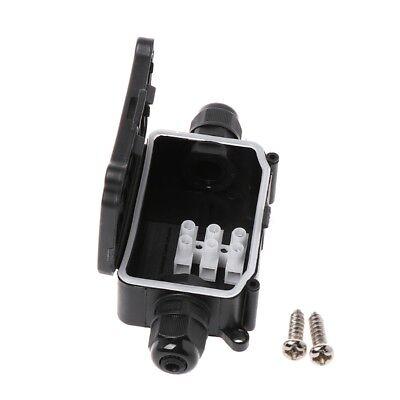 Waterproof Junction Box Weatherproof Plastic Electric Enclosure Case Ip66 2 Way