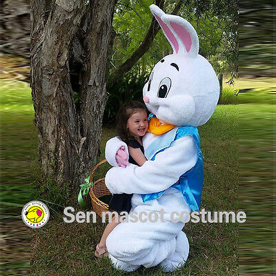 Halloween Easter New Mascot Costume Rabbit party game Fancy Dress Adults Size - Horror Halloween Dress Up Games