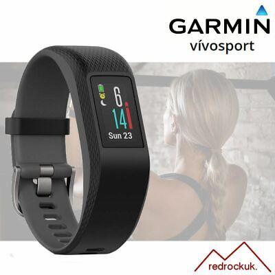 Garmin Vivosport GPS Fitness Running Watch Tracker - Built In HRM - L - Slate