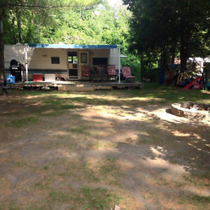 Trailer deck and generator for sale in pridhams park.