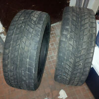 215/45R17 Winter tires only 2 available very great tread!