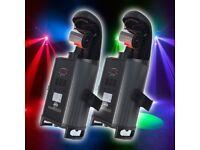 Pair of ADJ Inno Roll LED 50w Barrel Scan Light Effects # 2x, DJ, band, disco lights, club lighting)