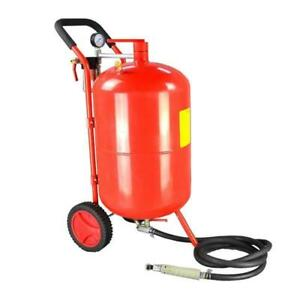 Air Pressurized Portable Sand Pot Sandblasting Machine10 gallon tank020106