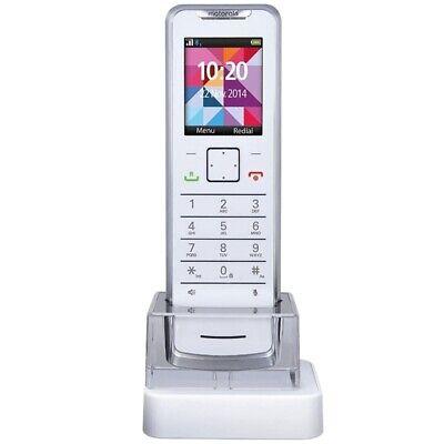 Motorola IT.6.1.H DECT-Mobilteil weiß, Digitales Schnurlostelefon