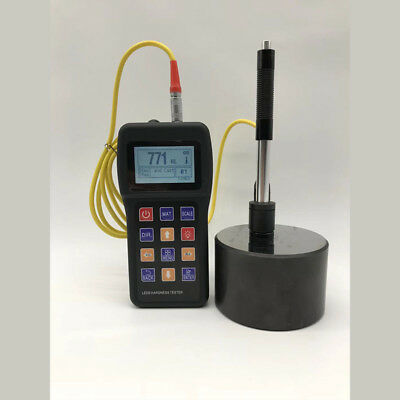 Portable Leeb Hardness Tester Metal Hardness Meter With Calibration Block Hot