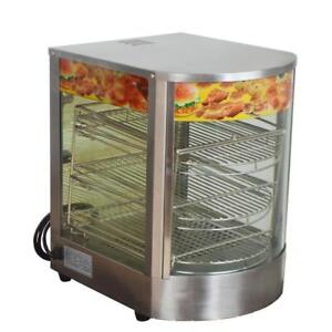 110V Commercial pizza warmer display cabinet 122060
