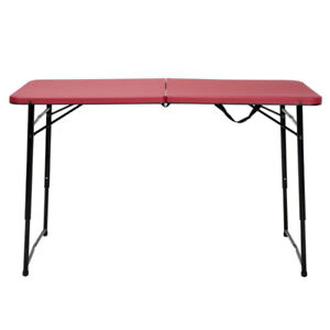 Folding Table in Red