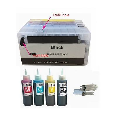 4 Pack Empty Refillable Ink Cartridge For Hp 950 951 Plus...