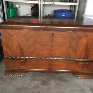 Antique 1940's Cedar Hope Chest