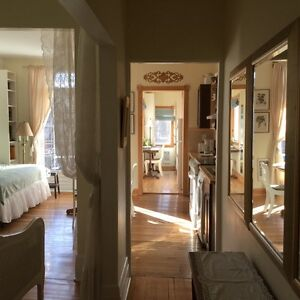 Charming and peaceful fully furnished & equiped loft in Plateau
