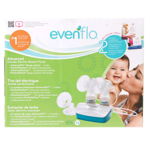 Evenflo double electric breadt pump