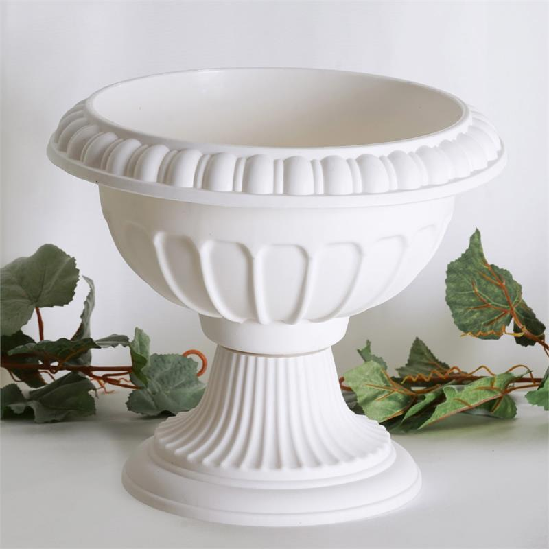"12 pcs IVORY 12"" wide Wedding Roman Empire Flower Pots Party Decorations"