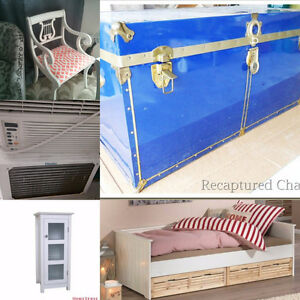Vintage Chair, day bed, Air Conditioner - Moving Sale!