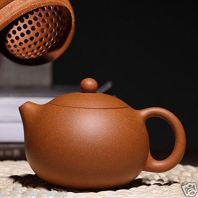 on sales xishi pot handmade carved Chinese real yixing zisha duan clay tea pot