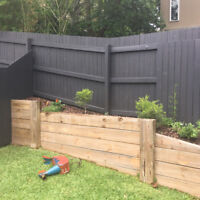 Fence Painting, SUMMER SPECIAL
