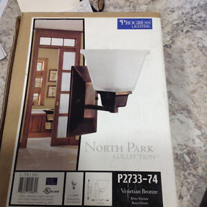2 Brand New Wall Sconces