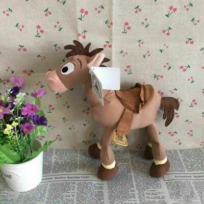 "10"" Toy Story 4 Bullseye Woody Jessie Horse Plush Animal Stuffed Kids Xmas Gift"