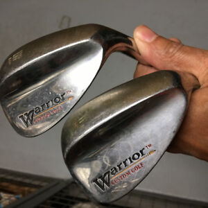 Warrior 56 and 60 degree wedges