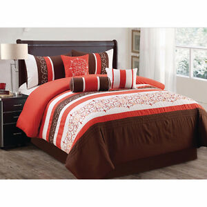 Comforter Sets-7 Piece-Brand New Embroidery Designs-Beautiful